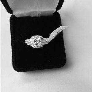 Beautiful sterling cz JTV ring size 10